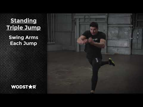 How To Do a Standing Triple Jump