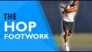 Tennis Approach FOOTWORK − Hitting While Moving Forward