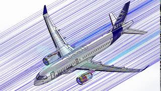 Fluid structure interaction (FSI) modelling and analysis on Airbus A220