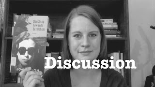 Discussion: Slouching Towards Bethlehem