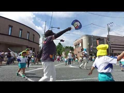 第47回千厩夏まつり:小羊幼稚園遊戯(2019.7.27)