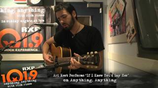 Ari Hest - If I Knew you'd say yes