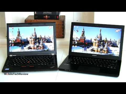 Sony VAIO S 13.3 vs. Lenovo ThinkPad X230 Comparison Smackdown