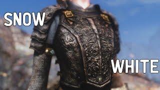Skyrim Mod Shopwindow: Snow White Armor