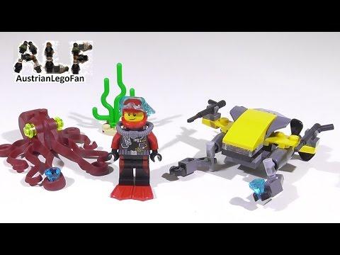 Vidéo LEGO City 60090 : L'explorateur sous-marin