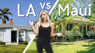What $1,500 Per Month Gets You In LA VS Hawaii