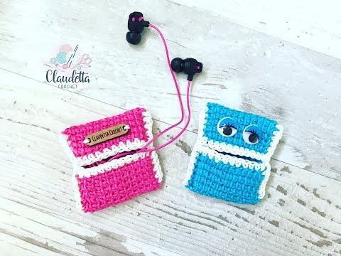 EINFACHE Kopfhörer Tasche häkeln / super für Anfänger geeignet