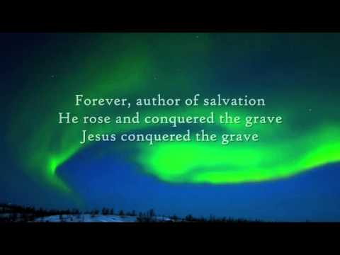 Hillsong - Mighty to Save - Instrumental with lyrics