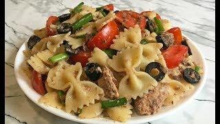 Неимоверно Вкусный Салат из Макарон с Тунцом!!! / Pasta Salad