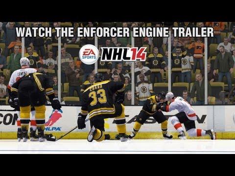 NHL 14 trailer ukazuje Enforcer Engine