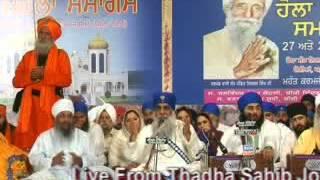 preview picture of video 'holla mohalla 2013 , dera sant nischal singh , joria , yamunanagar'