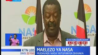 NASA imesema kuwa haiko radhi kufanya mkutano na IEBC hadi masharti yao yatimizwe