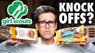 Knock-Off Girl Scout Cookie Taste Test