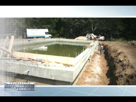 Foundation Supportworks by Thrasher was contracted to re-level a 70-foot by 32-foot concrete swimming pool near Lincoln, NE that was displaced after a 5.5 inch rainstorm. Check out the video to find out how FSI by Thrasher was able to level this massive structure. For more information about Foundation Supportworks by Thrasher visit www.fsibythrasher.com