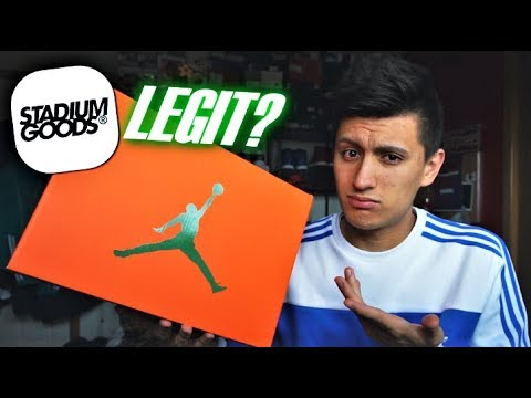 DOES STADIUM GOODS SELL FAKE SNEAKERS? $400 UNBOXING