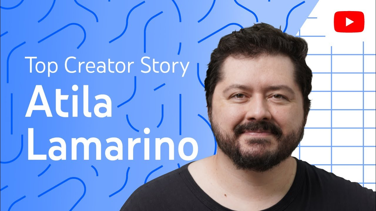 Breakout creator Atila Iamarino *reacts* to his own YouTube videos