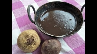 How To Mix Henna For Natural Burgundy Hair Colour    In Telugu