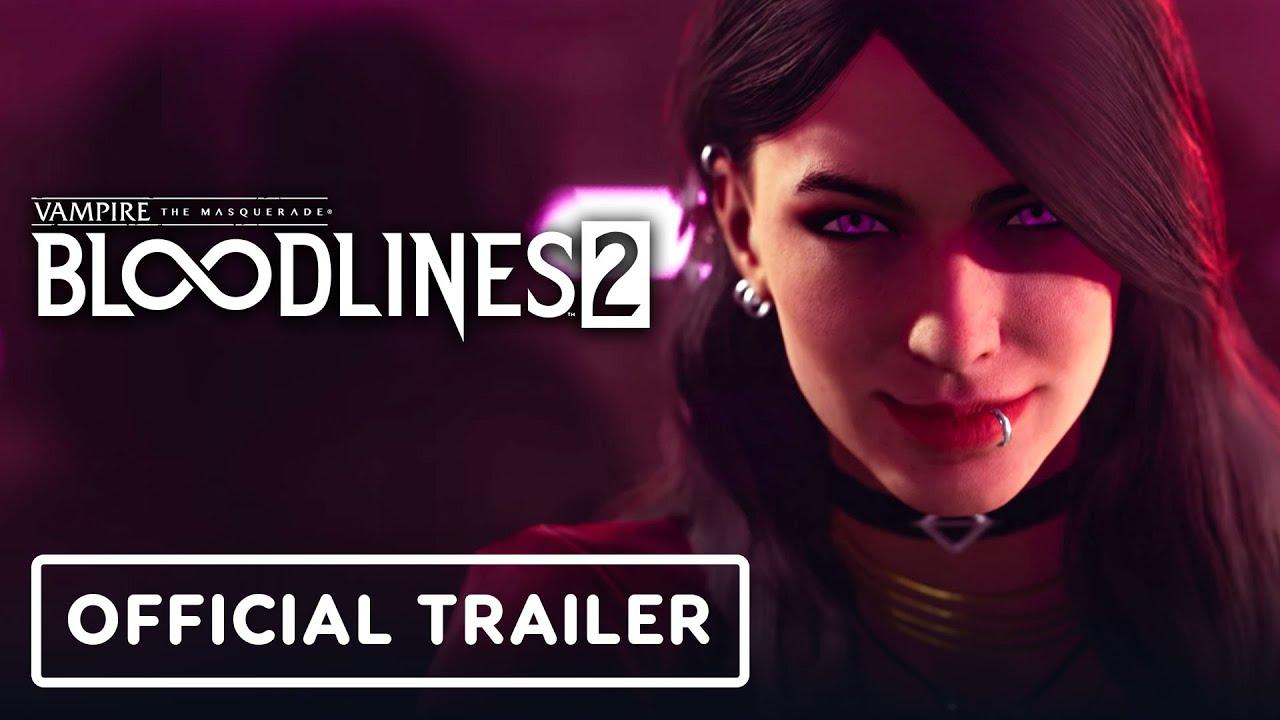 Анонсирующий трейлер игры Vampire: The Masquerade - Bloodlines 2