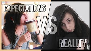 EXPECTATIONS VS REALITY - Morning Routine