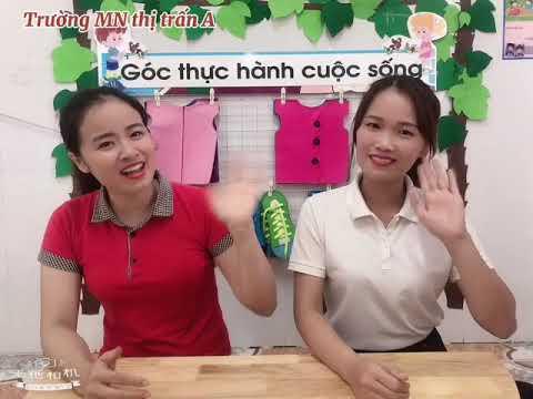 Kỹ năng sống: Dạy trẻ lễ phép khi ở nhà do cô giáo Nguyễn Thành Tuyên, Nguyễn Thị Thu giáo viên Trường MN Thị trấn A