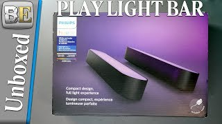 Philips Hue play Light Bar Unboxed and Setup