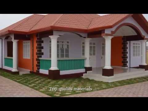 Guinea House Tour: Gomboya Plot 8, Modèle