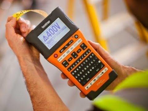 Etichettatrici palmari Brother PT-E550WVP, PT-E300VP, PT-E110VP