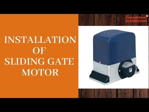 Auto Sliding Gate Operator