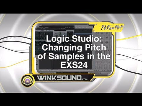 Logic Pro: Changing Pitch of Samples in the EXS24   WinkSound