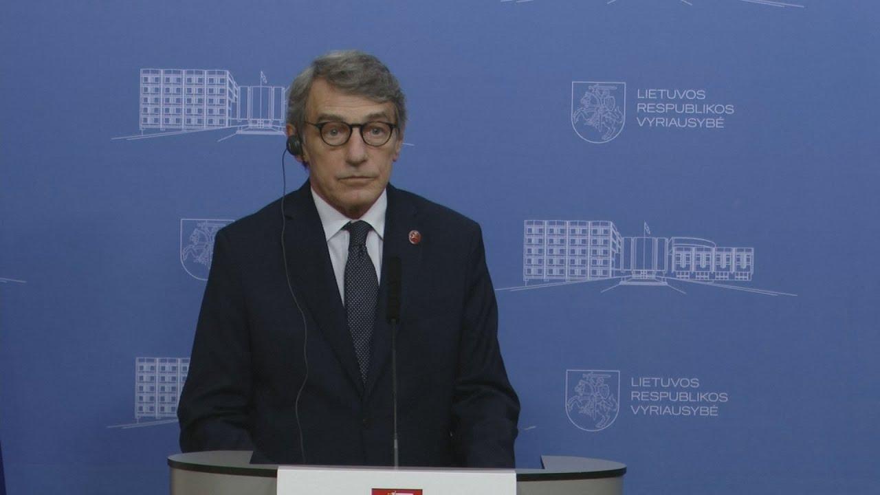 Λιθουανία-Ντ.Σασόλι: Υπάρχει ανάγκη ανθρωπισμού, αλλά και προστασίας του ευρωπαϊκού χώρου