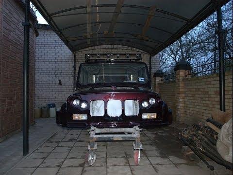 Багажник на крышу своими руками: фото, видео