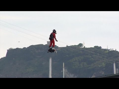 Flyboard Air, un nuevo concepto de tabla voladora - science