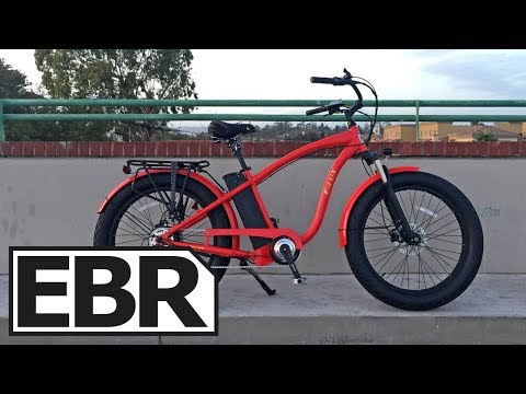 E-Lux Tahoe Sport Video Review – $3k Fat Cruiser Electric Bike with Lights, Fenders, & Rack