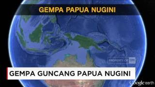 <b>Gempa</b> Dahsyat Guncang Papua Nugini  79 SR