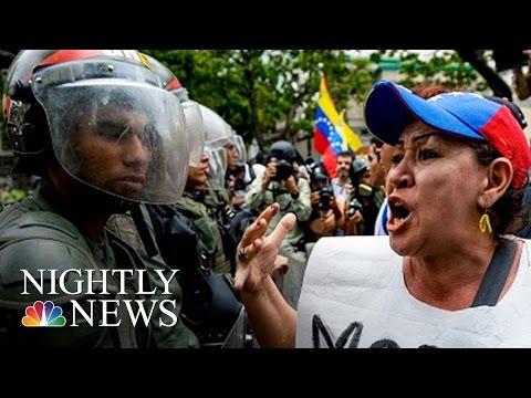 Venezuela In Turmoil: Violent Protests Continue | NBC Nightly News