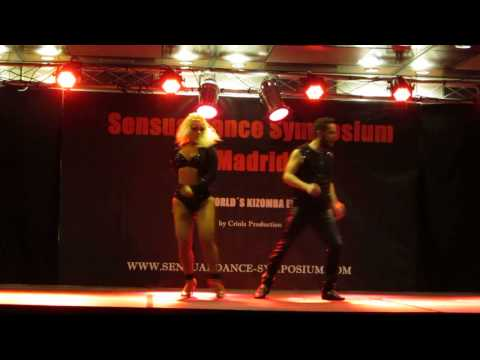 Ronald Jara SENSUALDANCE SYMPOSIUM MADRID 2014