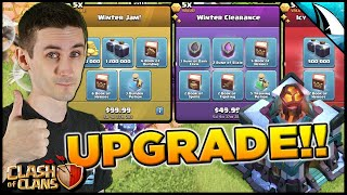 Crazy Packs for Town Hall 13!! Time to upgrade and max heroes! | Clash of Clans
