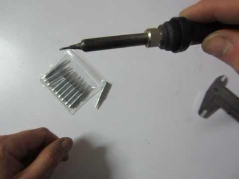 10pcs 900M-T-B Lead-free Solder Iron Tips for Hakko Soldering Rework Station