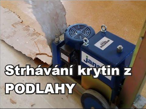 e21f455614d videopodlahy.cz - Strhávačka podlah MASTER Mobil - Hydraulic
