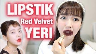 😱LIPSTIK RED VELVET YERI ?!?💄| Warnanya .... 🤔 ReVeluv ANGKAT TANGAN!