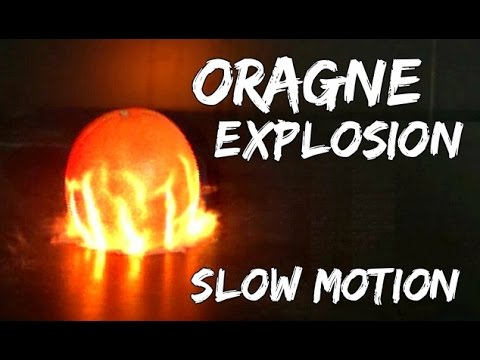 Slow-Motion Explosion Of An Orange Is Like Seeing A Supernova On Earth