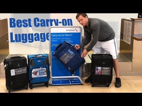 Best Carry-On Luggage  – Travel Pro Max Lite 4, FlightPath, Delsey Air Elite, Samsonite Aspire XLite