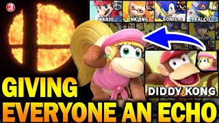 Giving An Echo Fighter To EVERY Character In Super Smash Bros Ultimate!