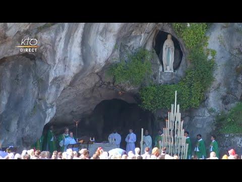 Messe du 19 juillet à Lourdes