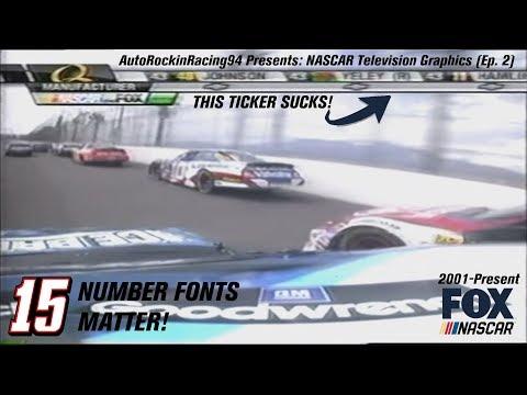 NASCAR Television Graphics (Episode 2): Fox NASCAR