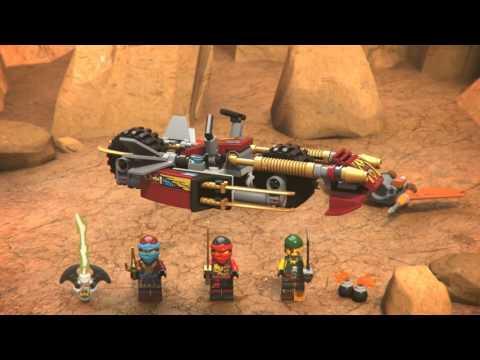 Конструктор Погоня на мотоциклах - LEGO NINJAGO - фото № 4