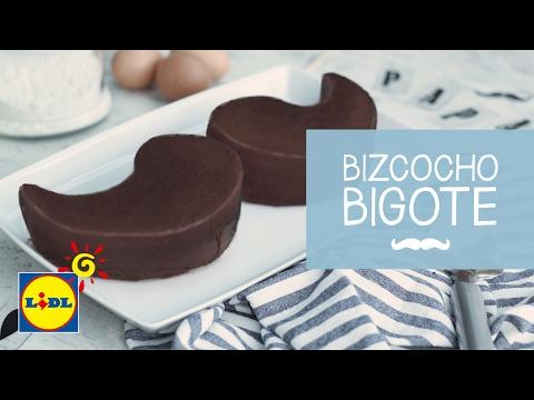Bizcocho Bigote - Recetas Día del Padre
