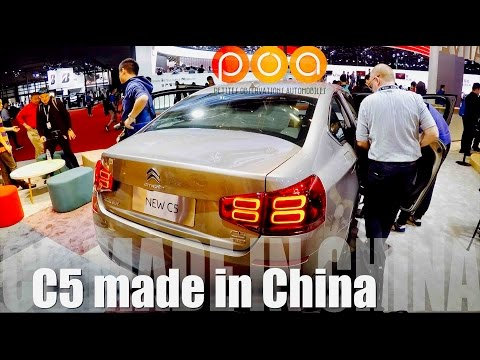 Nouvelle Citroën C5 Made In China & Citroën C3 XR - Salon De Shanghai 2017 2/4 Mp3