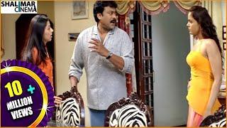 Jai Chiranjeeva Movie || Back 2 Back Comedy Scenes || Chiranjeevi, Sameera Reddy || Shalimarcinema