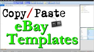 How To Create eBay HTML Listing Template - Copy & Paste Step by Step Tutorial